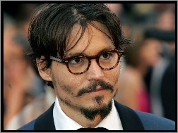 broda, Johnny Depp, okulary